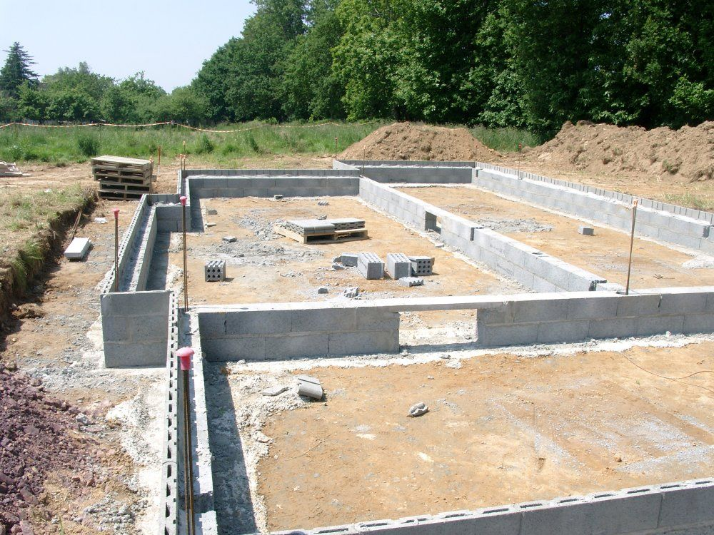 Leterrassement2 laconstructiondenotremaison for Maison vide sanitaire